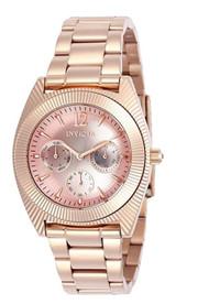 Invicta Angel Rose Gold Tone Ladies Watch 23750