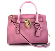 Michael Kors Womens Hamilton East West Satchel misty rose 30S2GHMS3L-623