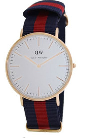 Daniel Wellington Men's 0101DW Classic Oxford Analog Display Quartz Two Tone Watch