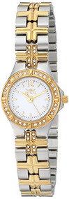 Invicta Women's 0127 Wildflower Collection Crystal Accented Stainless Steel W...