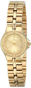 Invicta Women's 0137 Wildflower Collection 18k Gold-Plated Stainless Steel Wa...