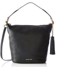 MICHAEL Michael Kors Elana Large Shoulder Bag (Black) 30T6GE3L3L-001