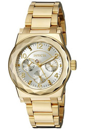 Invicta Women's 'Angel' Quartz Stainless Steel Casual Watch (Model: 22110)