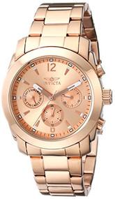 Invicta Women's 17902 Angel Analog Display Swiss Quartz Rose Gold Watch [Watch]