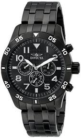 Invicta Men's 19206 I-Force Analog Display Swiss Quartz Black Watch