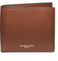 Michael Kors Mens Bryant Leather Billfold Wallet Luggage  39F5MYTF1L-230