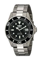 Invicta Men's 0420 Pro Diver Automatic Black Dial Titanium Watch [Watch] Invicta