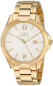 Invicta Men's 18109 Specialty Analog Display Swiss Quartz Gold Watch