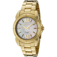 Invicta Women's 0460 Angel Collection 18k Gold-Plated Stainless Steel Mother-...
