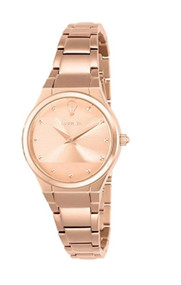Invicta Women's 'Gabrielle Union' Quartz Stainless Steel Casual Watch, Color:Rose Gold-Toned (Model: 23278)