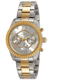 Invicta Women's 'Angel' Quartz Stainless Steel Casual Watch, Color:Two Tone (Model: 21425) …