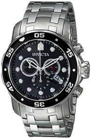 Invicta Men's 0069 Pro Diver Collection Stainless Steel Watch [Watch] Invicta