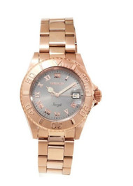 Invicta Angel Mother of Pearl Dial Two-tone Ladies Watch 14368