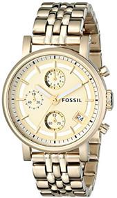 Fossil Women's Dress ES2197 Mother-Of-Pearl Stainless-Steel Quartz Watch [Wat...