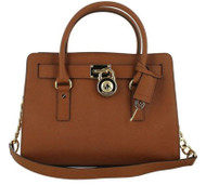 MICHAEL Michael Kors Women's Hamilton East / West Satchel Bag, Luggage, One Size 30S2GHMS3L-230