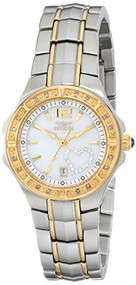 Invicta Women's 6391 Wildflower Collection Diamond Accented Two-Tone Watch In...