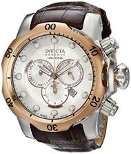 Invicta Men's 0359 Reserve Collection Venom Chronograph Brown Leather Watch I...