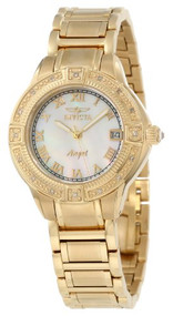 Invicta Women's 12807 Angel Mother-Of-Pearl Dial Diamond Accented Watch [Watc...