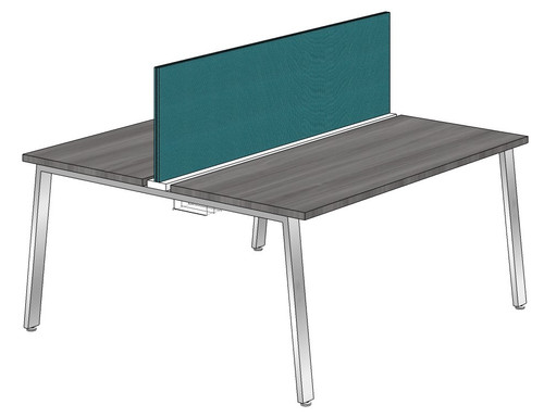 "Synapse 2-packs with 18"" Tackable Privacy Panel, 60"" Deep Bench"