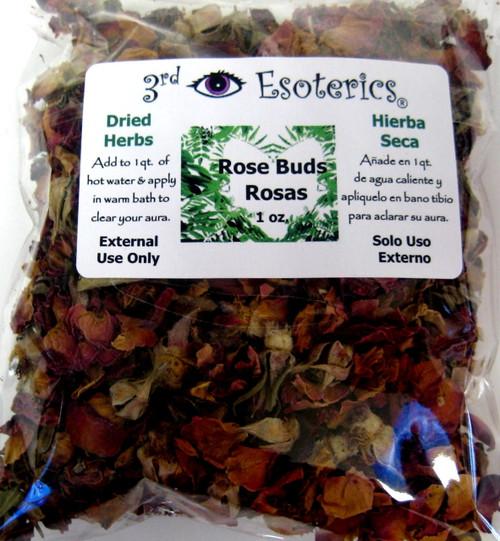 Rose Buds Dry Herbs