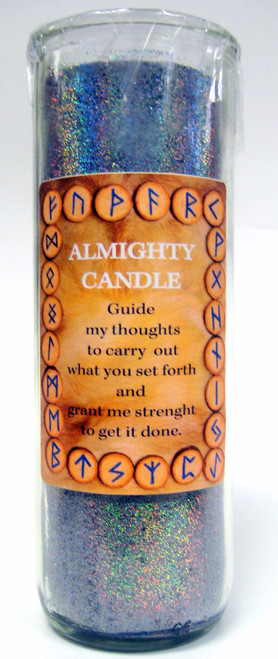 Almighty Runic Powers Candle