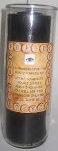 Runic Powers Success Candle