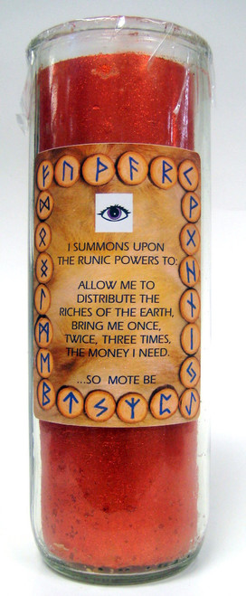 Runic Powers Money Candle