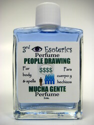 People Drawing Perfume