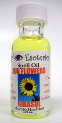 Sunflowers Spell Oil