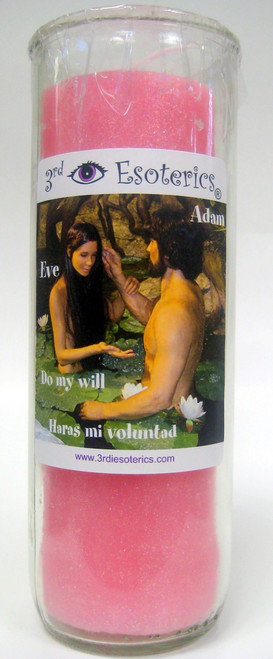 Adam and Eve Love Candle