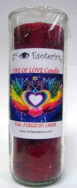 Fire of Love Candle