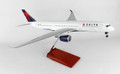 SKR8803 Skymarks Delta A350 1:100 W:Wood Stand & Gear Model Airplane