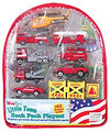 WTBPE WowToyz Fire Vehicles 10 Piece w/Backpack