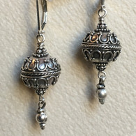 Balinese spherical earring
