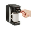 Insert tray into Cafe Valet brewer