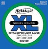 D'Addario EXL130 Electric Guitar Strings - X-Super Light