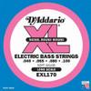 D'Addario EXL170 Bass Guitar Strings - Light