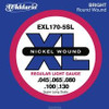 D'Addario EXL170 5-String Bass Strings - Light