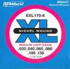 D'Addario EXL170 6-String Bass Strings - Light