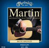 Martin 80/20 Bronze Acoustic Guitar Strings - Medium