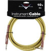 Fender 10' Right-Angle Tweed Instrument Cable