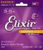 Elixir Nanoweb Acoustic Guitar Strings - Custom Light