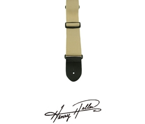 "Henry Heller 2"" Poly Guitar Strap"