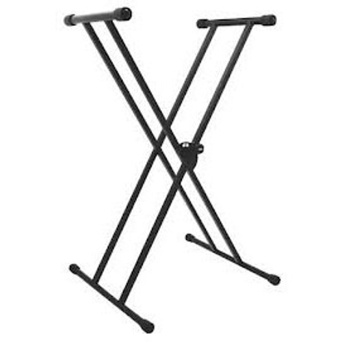 On-Stage Double-X Keyboard Stand