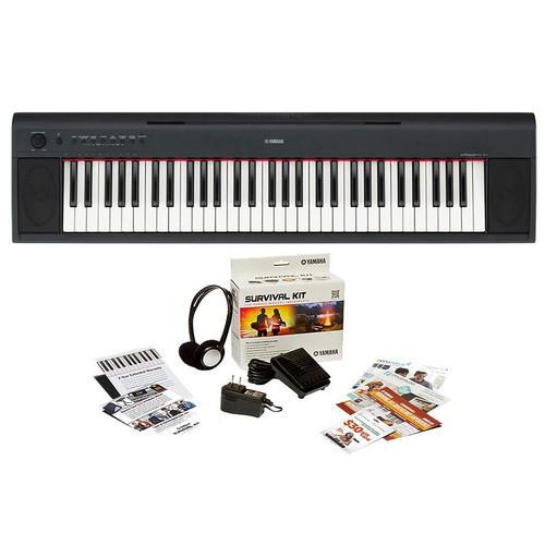 Yamaha NP12B Digital Piano with Survival Kit