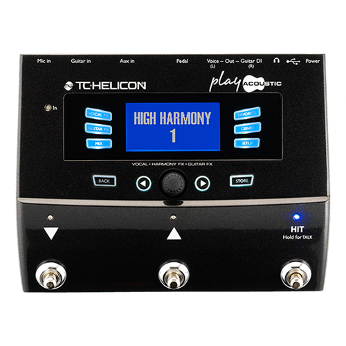 TC Helicon Vocal & Guitar FX Pedal