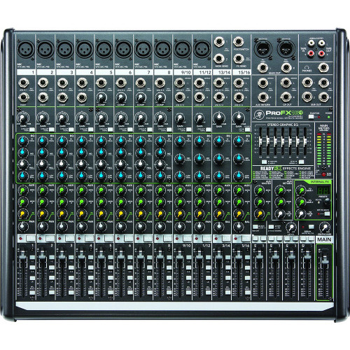 Mackie ProFXv2 16-Channel Mixer with Effects & USB
