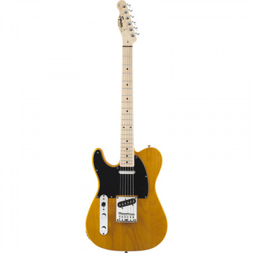 Squier Affinity Telecaster Left-Handed Electric Guitar - Butterscotch Blonde