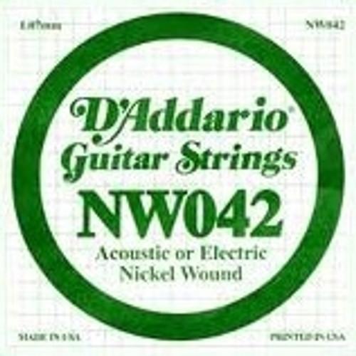 D'Addario Electric Single String