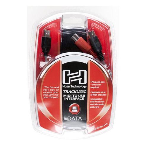 Hosa 6' MIDI to USB Interface Cable